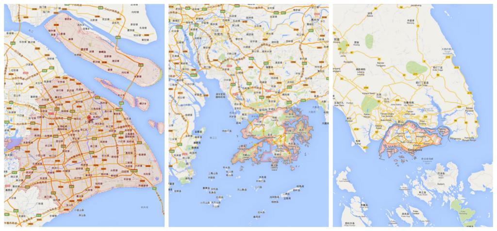 Singapore-Hongkong-Shanghai